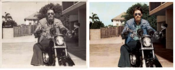 Mr Black Before & After